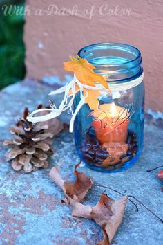 With a Dash of Color: Ode to Fall