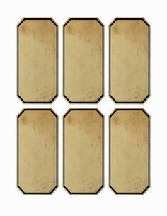 Vintage Labels One Blank Dream: Free Jar Apothecary Labels x Digital Collage Sheet Blank Labels, Jar Labels, Harry Potter Potion Labels, Imprimibles Harry Potter, Anniversaire Harry Potter, Halloween Labels, Freebies, Printable Labels, Labels Free