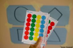 Need a quick toddler activity? Try Sticker Shapes! This easy activity is perfect for practicing fine motor skills and math skills. A great indoor activity! Infant Sensory Activities, Baby Sensory, Indoor Activities, Shapes For Toddlers, Building For Kids, Preschool Activities, Shape Activities, Fine Motor, Problem Solving