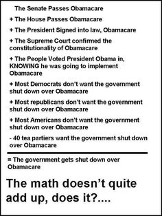 How does this math add up?  Thanks to Being Liberal and Arguing with Republicans is a Waste of Time! for sharing this.