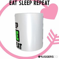 This, Eat Sleep Bike Repeat Coffee Mug makes for a cool funny gift that speaks of a person's passion for Biking. Funny Mugs, Funny Gifts, Eat Sleep Repeat, Great Gifts For Women, Great Birthday Gifts, Coffee Humor, Hot Chocolate, White Ceramics, Best Gifts