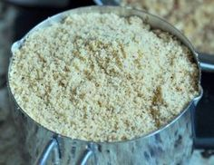Homemade Almond Flour or Gluten Free Oat Flour - Gluten free recipes - gfJules - with the REAL Jules