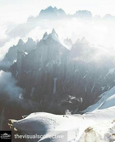 Credit to @thevisualscollective : Hey everyone! I'm @djisupertramp and I'm taking over the account here today. As much as I love traveling, I've never felt more at peace and more amazed than when exploring the Mont Blanc massif in the French Alps. These big rugged peaks are every mountaineers dream and I can't stop coming back to hike, camp, explore and capture photos and videos of this magical place. #exploretocreate