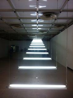 Bridgitte Kowanz, 'Light Show' Exhibition, Hayward Gallery