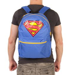 Blue  Superman  Backpack With Cape xoxo Superman Backpack 33d82db106d74