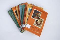 1950's National Audubon Society Books Lot of 15 by TheNewtonLabel, $32.00