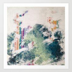 WATER/STRIPE2 Art Print by Brandon Neher - $22.88