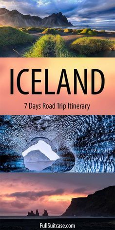 7 days in Iceland: Amazing Itinerary, Map & Tips for a Self-Drive Trip Iceland Road Trip, Iceland Travel Tips, Thingvellir National Park, Hiking Tours, European Travel, Day Trips, Travel Inspiration, Map, Amazing Places