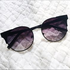 uo | purple tinted cat eye sunglasses super hip pair of urban outfitters sunglasses | good condition | offers welcome | no trades Urban Outfitters Accessories Sunglasses
