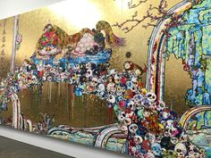 Takashi Murakami, Gagosian, Gagosian Gallery, art, NYC, Japanese artists, contemporary art, Mr. DOB, exhibition, sculpture, paintings
