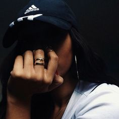 Adidas Hat Tumblr Girl