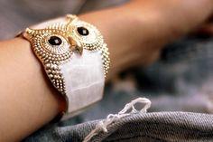 LOVE THIS BRACELET!  #owl #accessories #bracelet