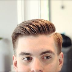 Clean professional combover look done our owner Hassan Nasser - - Mens Comb Over Hairstyles, Hairstyles Haircuts, Haircuts For Men, Mens Comb Over Haircut, Classic Mens Hairstyles, Barber Haircuts, Modern Haircuts, Fade Haircut, Wedding Hairstyles