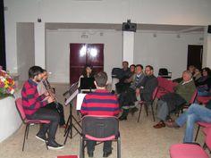 Concierto de la Asociación Cultural Guadalrosal al concluir la Mesa Redonda.