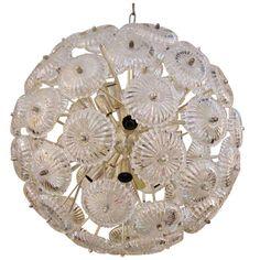 Sputnik Snowball Chandelier | 1stdibs.com
