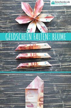 Blume Geldschein falten - List of the most creative DIY and Crafts Art Origami, Money Origami, Wedding Cards, Wedding Gifts, Ideias Diy, Engagement Ring Cuts, Flower Crafts, Pin Collection, Diy Art