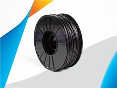 """Another new material has hit the Ultimaker Marketplace: Braskem's Carbon Fiber Reinforced Polypropylene (PP) filament (""""CF-PP"""") (""""FL900PP-CF""""). This filament is a great choice for rapid prototyping, custom product design, lightweighting, optimizing geometries and designing spare parts. 3d Printing News, Carbon Fiber, 3d Printer, Geometry, Product Launch, Design"""