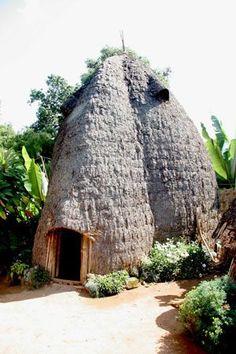 Dorze house, Ethiopia: