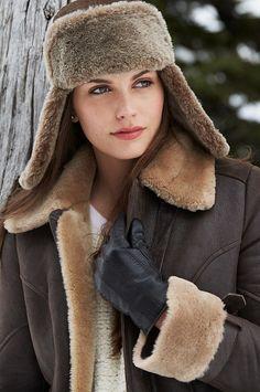 The Batavia Shearling Sheepskin Jacket surrounds you in luxurious shearling sheepskin with a crisp design that raises sporty to a new level.
