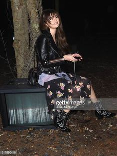 21de501e71a61f Selena Gomez attends Coach 1941 during New York Fashion Week at Basketball  City on February 13
