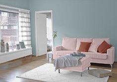 Farbgestaltung Fr Ein Wohnzimmer In Den Wandfarben Breeze Sweet Toskanabraun