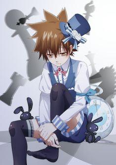 Reborn Katekyo Hitman, Hitman Reborn, Cute Characters, Anime Characters, Creature Concept Art, Mystic Messenger, Manga Games, Anime Demon, Anime Style