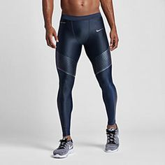 44cf3a016674a5 Nike Power Speed Hardlooptights heren Men s Workout Tights
