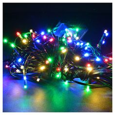 Luci natalizie 120 mini led multicolor programmabile interno/esterno | vendita online su HOLYART