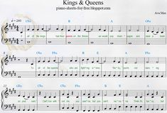 Ava Max — Kings & Queens Download Easy PDF Piano Sheet Music