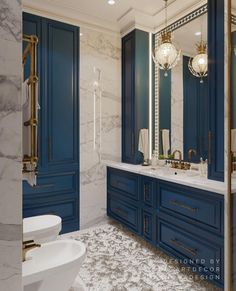 Trendy Home Design Country Bath 70 Ideas Bathroom Design Luxury, Home Interior Design, Classic Cabinets, Trendy Home, French Country Decorating, Beautiful Bathrooms, Bathroom Inspiration, House Design, Decoration