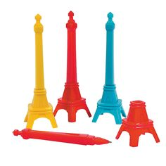 Eiffel Tower Pens - OrientalTrading.com