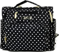 I want this diaper bag! Ju-Ju-Be 'Legacy BFF - The First Lady' Diaper Bag available at in the black and white stripe not polka dots Baby Diaper Bags, Diaper Bag Backpack, Backpack Straps, Jujube Diaper Bag, Baby Bags, Convertible Diaper Bag, Polka Dot Bags, Polka Dots, Child Room