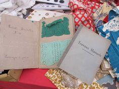 Ardingley Antique Fair....Vintage sample book
