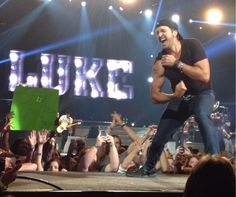 Luke.  Great concert!!  Hubs and I loved.  :)