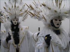 History of Carnevale: Masks have always been a central feature of the Venetian carnival; traditionally people were allowed to wear them between the festival of Santo Stefano (St. Stephen's Day, December 26) at the start of the carnival season and midnight of Shrove Tuesday. They have always been around Venice. As masks were also allowed during Ascension and from October 5 to Christmas, people could spend a large proportion of the year in disguise.