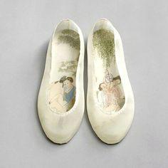 薄っすらエロティック。中国の「春宮画」を靴の中敷に表現した現代アート作品 | ADB