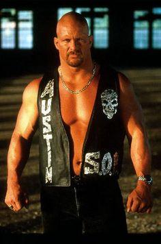 """""""Stone Cold"""" Steve Austin...Best. Wrestler. Ever."""