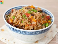 Easy recipe for a luxurious home-cooked Chinese fried rice with XO Sauce.