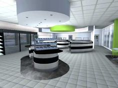 Commercial Restaurant Design - 3D Animation, by Space Catering