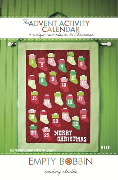 """advent calendar pattern. Combine with other etsy one. Put pointed end and include """"god jul"""" on bottom."""