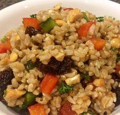 My Favourite Colourful Brown Rice Salad Recipe @ http://allrecipes.com.au