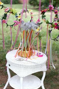 Enchanted Fairy Garden Party Birthday Party Ideas | Photo 1 of 47 | Catch My Party