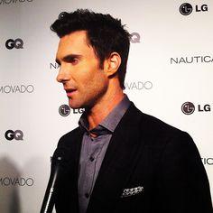 Adam Levine: GQ Fashion