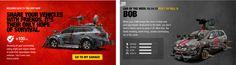 #Hyundai y su tienda de accesorios para matar zombies Chop Shop - The walking dead #app #iOS #Android