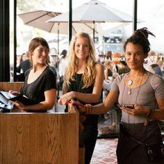 The ladies of Cafe Gratitude