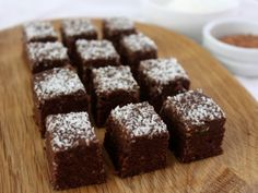 Vegan & nut free Brownie Bites ½cup sunflower seeds ½cup pumpkin seeds ½cup coconut flakes 8 dates (omit for fructose free) 2 tablespoons raw cacao ¼ teaspoon sea salt ...
