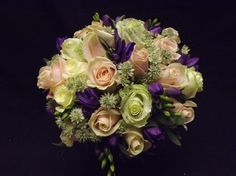 Hand tied bouquets - Wedding Flowers by Laura