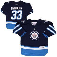Dustin Byfuglien Winnipeg Jets Reebok Toddler Replica Player Jersey – Navy Blue