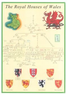 Founding Family: John Eaton of Radnorshire, Wales Welsh Symbols, Celtic Symbols And Meanings, Free Genealogy Sites, Family Genealogy, Facts About Wales, Learn Welsh, Wales Map, Welsh Language, Welsh Castles