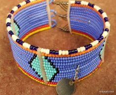African fashion 2014  new Masai beaded lady Bracelet by kissafrika